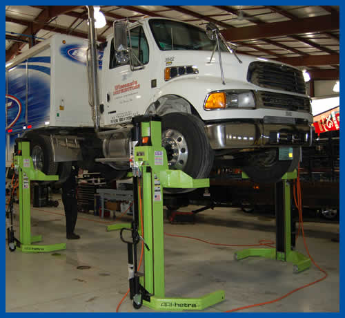 Large Truck and Bus Repair Services Wisconsin